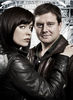 Eve Myles as Gwen Cooper & Kai Owen as Rhys Williams Doctor Who, Eve Myles, Russell T Davies, Captain Jack Harkness, Sci Fi Tv, John Barrowman, Perfect Together, Bbc Tv, Torchwood