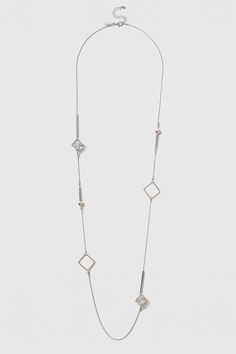 Cube Entrapped Necklace - Jewellery - Bags & Accessories - Topshop