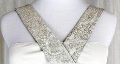 'S Max Mara Ivory Dress; US 4; Pockets; Gold Embroidery  #MaxMara #Cocktail