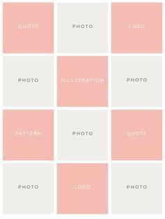 Cómo crear un feed de Instagram cohesivo - Bea & Bloom Creative Design Studio Layout Do Instagram, Instagram Feed Planner, Best Instagram Feeds, Instagram Feed Ideas Posts, Instagram Grid, Instagram Photo Editing, Instagram Design, Creative Instagram Photo Ideas, Instagram Aesthetic Ideas