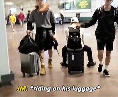 This is why I could never have one of those kinds of suitcases...