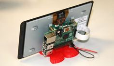 Raspberry Pi gets an official touchscreen display