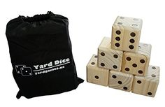 Floor Games - Giant Wooden Yard Dice by Yard Games *** Want additional info? Click on the image.