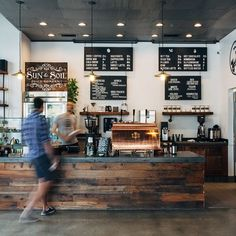 369 Likes, 5 Comments - Insight Coffee Restaurant Counter, Cafe Restaurant, Restaurant Design, Industrial Coffee Shop, Design Industrial, Rustic Coffee Shop, Coffee Shop Counter, Coffee Shop Bar, Coffee Club