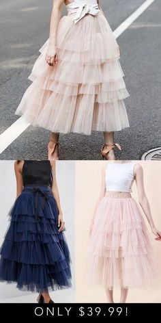 Step out looking as fabulous as you feel in the stunning high waist tulle skirt! Skirt Fashion, Fashion Dresses, Dress Skirt, The Dress, Prom Dresses, Formal Dresses, Wedding Dresses, Estilo Rock, Diy Vetement