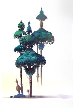ArtStation - trees for personal inner peace 2, Lip Comarella