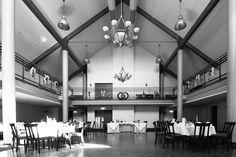 Saal in Lengede bereit für die Hochzeit