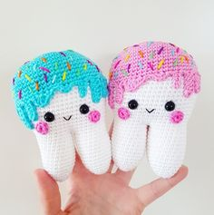 Sweet Tooth Amigurumi Pattern