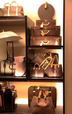 I want my closet to have all of these Louis Vuitton's