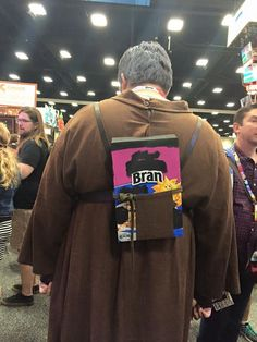 "This Hodor costume from Comic-Con has Game of Thrones fans saying ""Hodor"" (in a good way). 