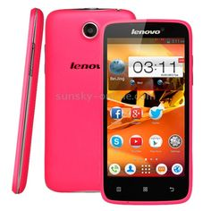 """1) Brand: LENOVO  2) Screen Size: 4.5""""  3) Screen Material: IPS  4) Screen Type: Touch screen  5) Shell Material:Plastic  6) Style: Bar Phone  7) Unlocked: Yes (without contract)  8) 3G: WCDMA 2100MHz  9) 2G: GSM 1900MHz, GSM 1800MHz, GSM 900MHz, GSM 850MHz  10) Standby: 2 SIM 2 Standby  11) SIM Card: Standard SIM Card  12) Data Transfer: HSPA+, HSPA, EDGE, GPRS  13) OS: Android 4.2.2  14) CPU: Dual Core, MTK6572 ARMv7  15) CPU Frequency: 1.2GHz  16) RAM: 512MB"""