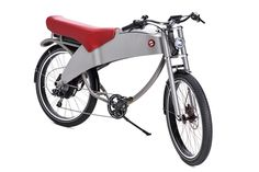 Lohner Stroler : Retro design e-bike with good storage space Electric Motor, Retro Design, Storage Spaces, Motorcycle, Bike, Vehicles, Star, Silver, Objects