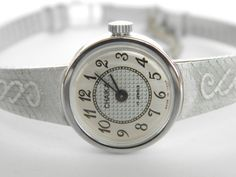 Clock and watch by Minka Vancheva on Etsy