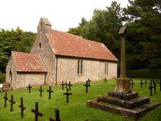 Caldey Island: church of St. David