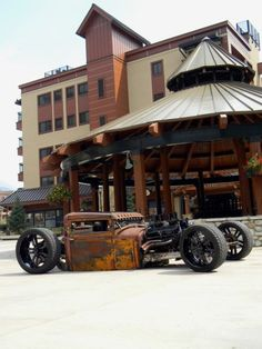 Old school hot rod Rat Rods, Rat Rod Cars, Automobile, Roadster, Sweet Cars, Hot Rides, Us Cars, Ford Models, Car Pictures