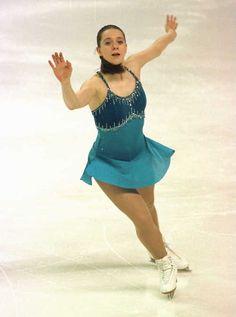 Emily Hughes -Blue Figure Skating / Ice Skating dress inspiration for Sk8 Gr8 Designs.