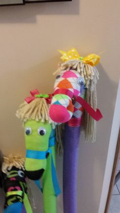Cowgirl birthday, my little pony party, horse party, cowboy party, diy for Cowgirl Birthday, Farm Birthday, Birthday Games, My Little Pony Party, Pool Noodle Horse, Diy For Kids, Crafts For Kids, Pool Noodle Crafts, Horse Party