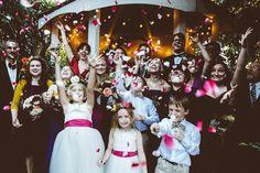 A Handcrafted Backyard Wedding in Sunnydale - photo by Bethany Carlson http://ruffledblog.com/a-handcrafted-wedding-in-sunnydale