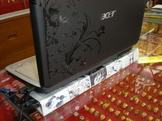 laptop stand-finished. Laptops are expensive but very mobile and usefull...