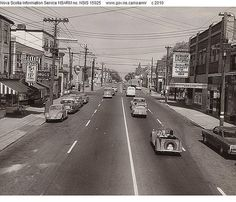 Quinpool Road, Halifax, 1960-1961