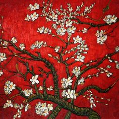 carmine is as warm and lively as wine. (vincent van gogh)