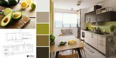🌿 Verdele este asociat cu prospețimea și primăvara fiind o culoare liniștitoare ce îți sporește creativitatea în bucătărie!