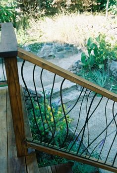 Outdoor Hand Railings | Outdoor stair railing