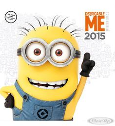 Despicable Me Kalender 2015 Minions Hier bei www.closeup.de