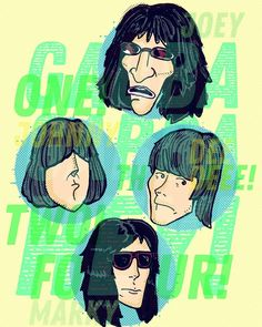Ramones, The Strokes, Phish, Eddie Vedder, Radiohead, Pearl Jam, Grateful Dead, Iggy Pop, Gabba Gabba