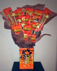 REESE'S PEANUT BUTTER CUP FANS! FuN CaNdY BoUqUeT for ANY occasion or just because!
