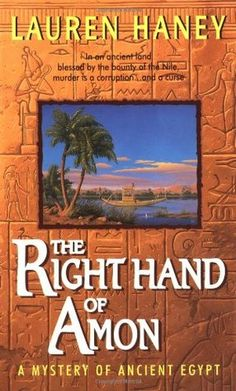 Lauren Haney, a former technical writer,has painstakingly researched and composed eight historical mysteries taking place in the 18th Dynasty of Queen Hatshepsut and Tutmos III in ancient Egypt. Lieutenant Bak Commander of the Medjay Police must constantly try and thwart crimes against both the Royal House and the tombs of past Egyptian rulers.