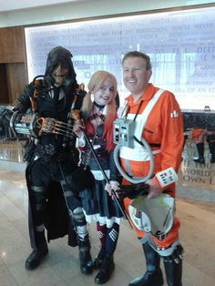 Hanging out in arcade con 2015
