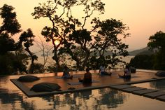 Full Moon yoga in Thailand Full Moon Party, Thailand Travel, Phuket, Serenity, Spa, Relax, Ocean, River, World