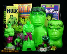 Vintage Hulk collection via Cool & Collected