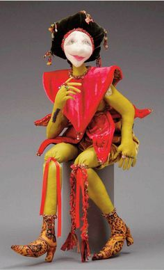 Cloth Doll Patterns by Cheryl Smith