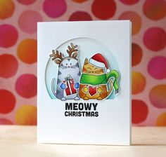 Adore this card by Laura Bassen for the Simon Says Stamp Blog using Simon Exclusives.