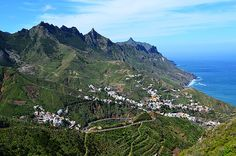 The Anaga Mountains, Tenerife