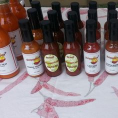 THE HOTTEST COLORS OF FALL!  Visit us this #Halloween weekend at:  • City of West Palm Beach GreenMarket This Sat. 10/28 (9a-1p)  • The Gardens GreenMarket This Sun. 10/29 (8a-1p)  www.ghostpepperZ.com #hotsauces #ghostpepperZ