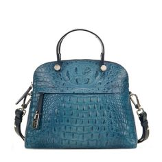 "Beautiful #Furla handbag in petrol blue! ""Must have"" #handbags for every women's wardrobe"
