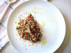 Think over, eat smart!: Salată tabouleh cu hrișcă si parmezan