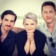 Colin O'Donoghue, Ginnifer Goodwin, and Josh Dallas
