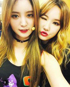 EXID Junghwa & LE