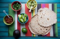 THURS (08/22/13) - Whole Wheat Coconut Tortillas (for flying fish tacos)