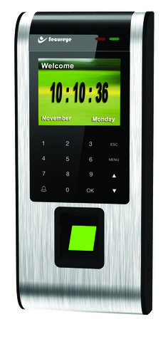 Secureye IP-based Professional Access Control T&A Biometric Machine, S-B80C, needs a simple link with Ethernet port or through Internet to start working. With a 2.8-inch Colour Display Screen and a Touch Button Keypad for easy steering, this feature-loaded device has 600 apt and rugged DPI optical sensors which are carved in line with the Auto Adapt Technology and are receptive to the oily, wet or even scratched fingers in a split-second-time.