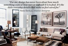 Nate Berkus on Style Boosters for any room