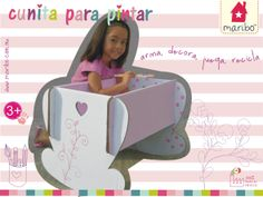 Cunita de cartón para decorar la recámara de tu bebito!