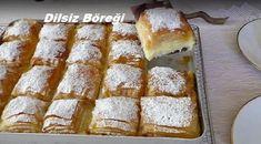 Dilsiz Böreği | Falanca Kadın Portalı Banana Dessert Recipes, Köstliche Desserts, Delicious Desserts, Cake Recipes, Muffins, Popular Recipes, Hot Dog Buns, Banana Bread, Food And Drink