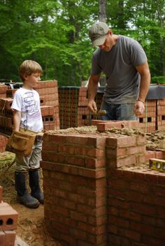 If youre interested in quality, craftsmanship, family, friendship, and bucking the trend, check out the house under construction by Clay Chapman.  http://hopeforarchitecture.com/blog/ He has the crazy idea that craftsmanship doesnt have to cost a fortune  hes testing the theory by building a brick house (structural brick, not the typical paste-on veneer) for less than the cost of a stick framed house.  His blog, and the blog of the family who will make the house their h