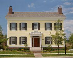 Paint Color Ideas for Colonial Revival Houses | Pinterest | Exterior ...