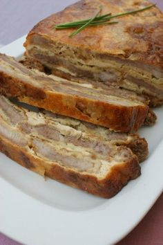 Pork Roast, Banana Bread, Sandwiches, Food And Drink, Treats, Meat, Roll Up Sandwiches, Sweet Like Candy, Paninis